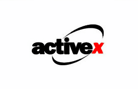 Logo de ActiveX: hasta el logo era horrible