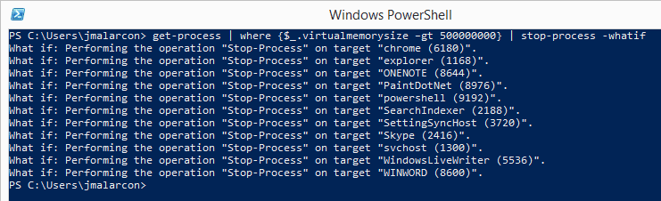 PowerShell-WhatIf