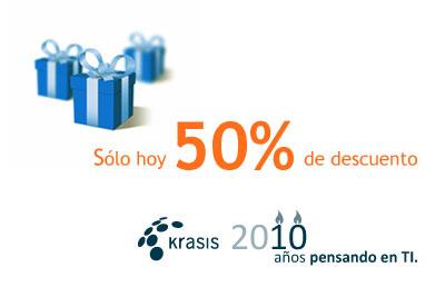 Krasis cumple hoy 10 años, y el regalo te lo hacemos nosotros...
