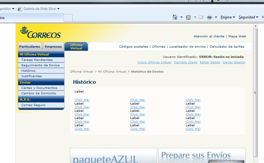 Oficina virtual de la odisea de for Oficina virtual correos