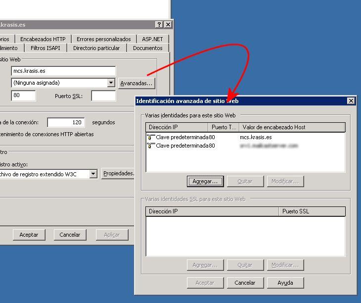 Usar varios certificados SSL en el mismo servidor IIS: Limitaciones de SSL y certificados comodín.