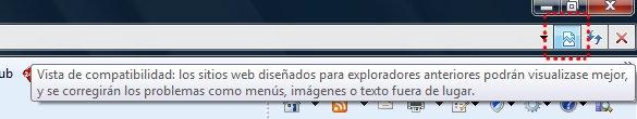 Mi menú ASP.NET no se ve en Internet Explorer 8: Solución rápida