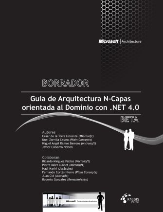 Libro gratuito gu a de arquitectura n capas for Arquitectura web 3 capas
