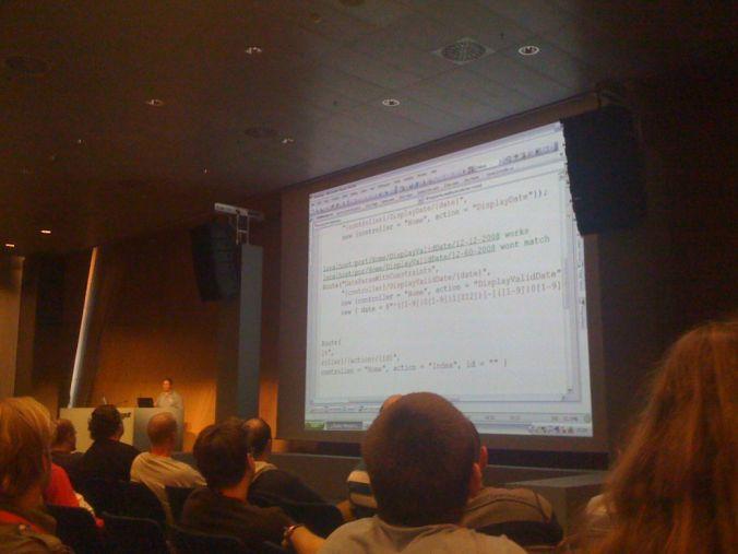 Barcelona día 3: TechEd día 2 - El mundo TIC dentro de 10 años. Ponencia de Hadi.