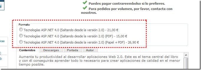 Mis dos libros de ASP.NET disponibles en PDF