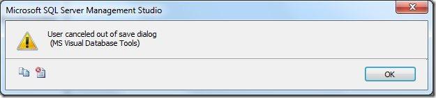 User canceled out of save dialog - El usuario ha cancelado el guardado