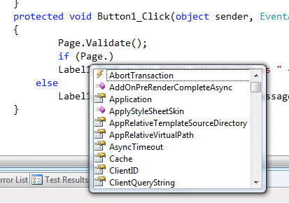 TRUCO RÁPIDO: intellisense transparente en Visual Studio 2008