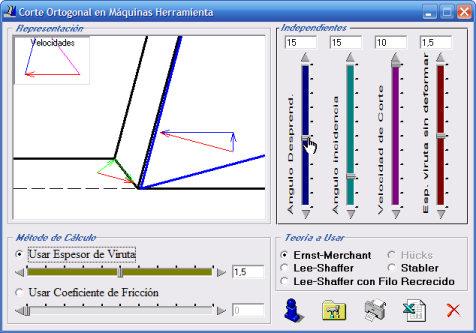Software para simulación de Corte Ortogonal